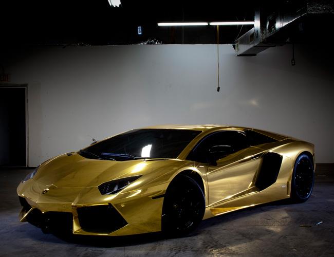 gold-lamborghini-aventador-7